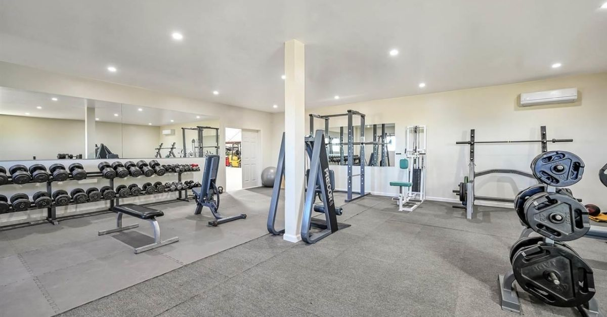 1751 Orchard Lane in Brentwood, California gym