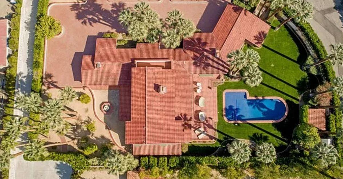 735 N Prescott Drive, Palm Springs, CA 92262 aerial