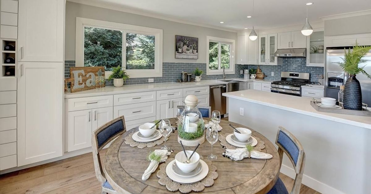 Dining area of home for sale in Walnut Creek, California