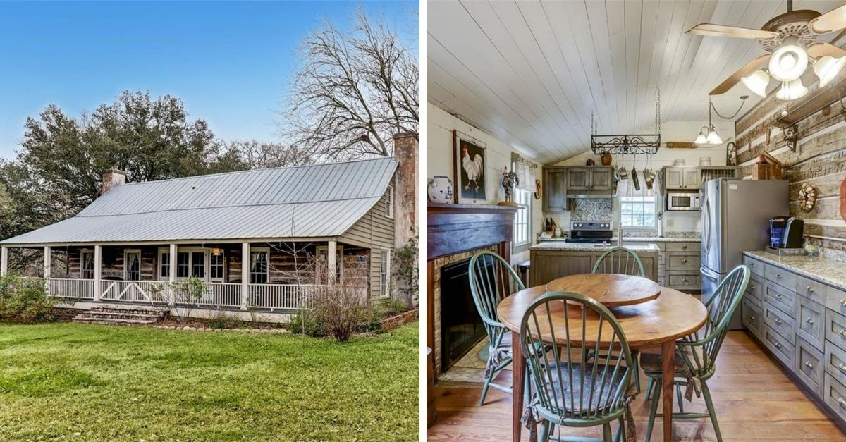 Farmhouse style bungalow with front porch and stone exterior