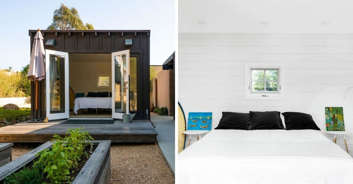 Tiny home with bedroom on estate in Malibu for sale