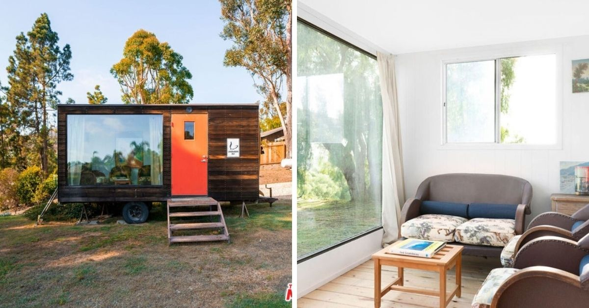 Tiny home with office on estate in Malibu for sale