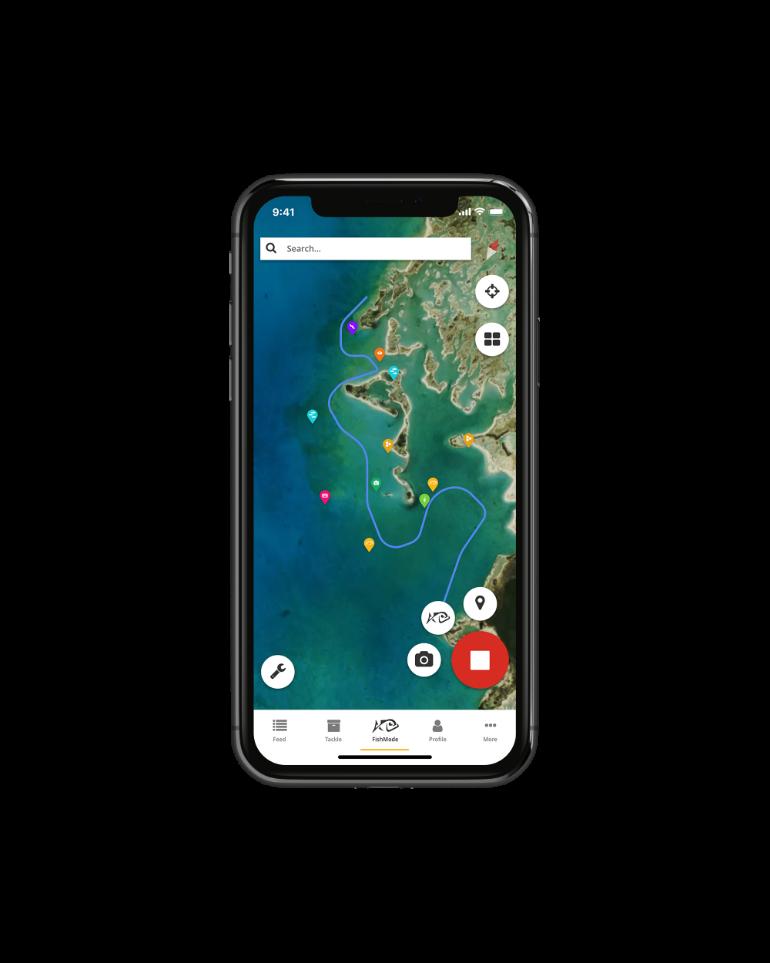 app interface scrolling image
