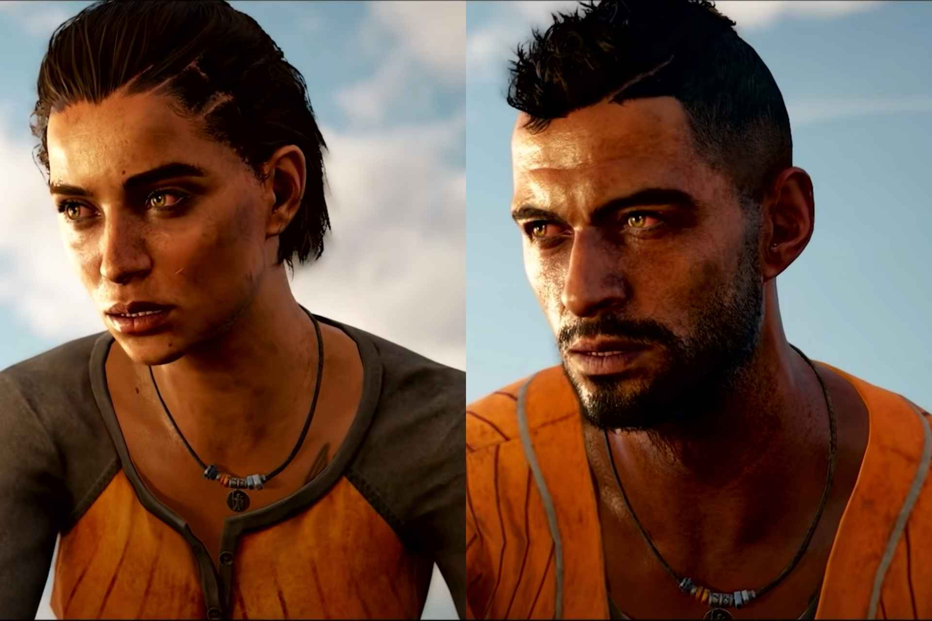 Main playable character- Dani Rojas- Male and Female