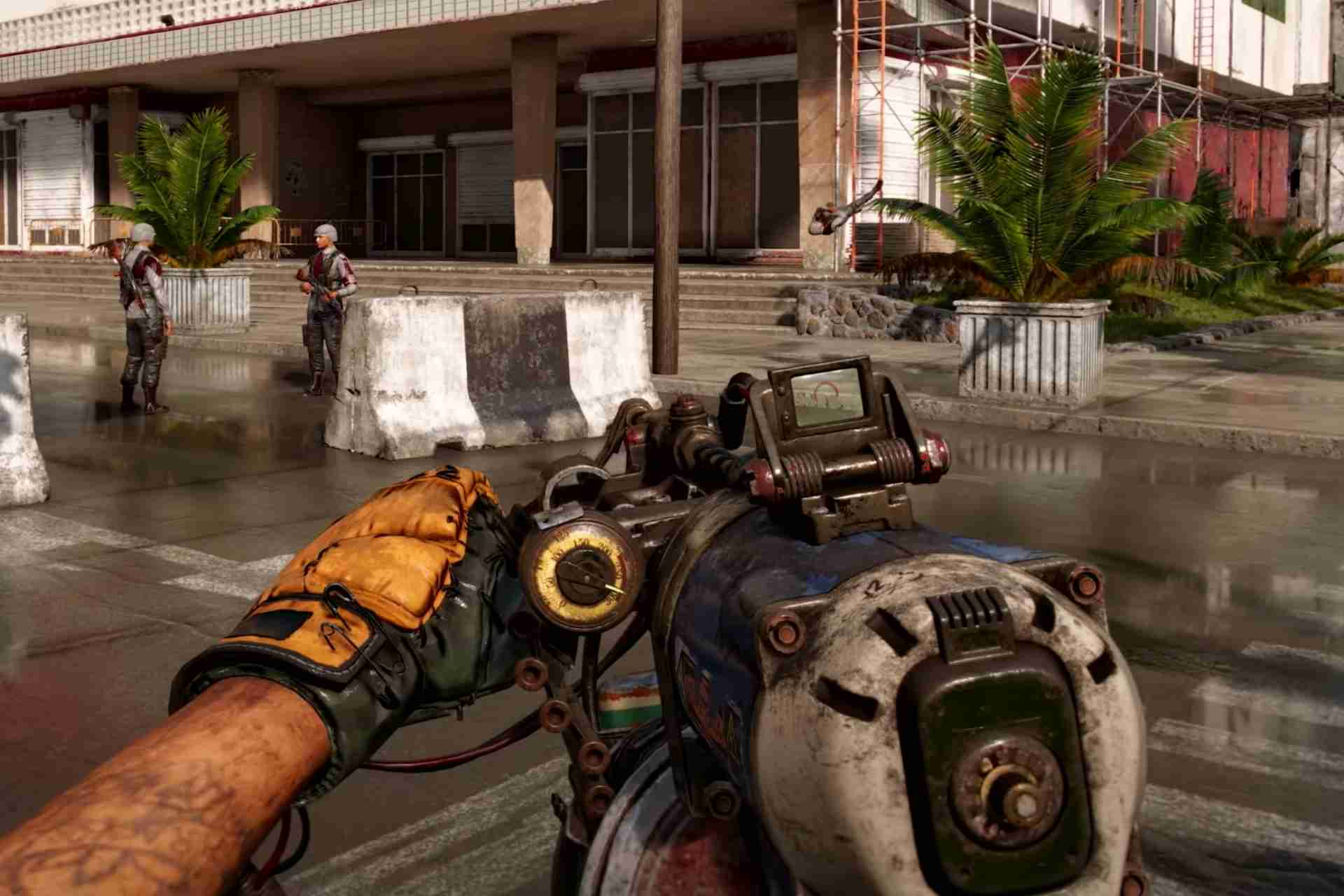 Gun made using Sardine cans-Far Cry 6