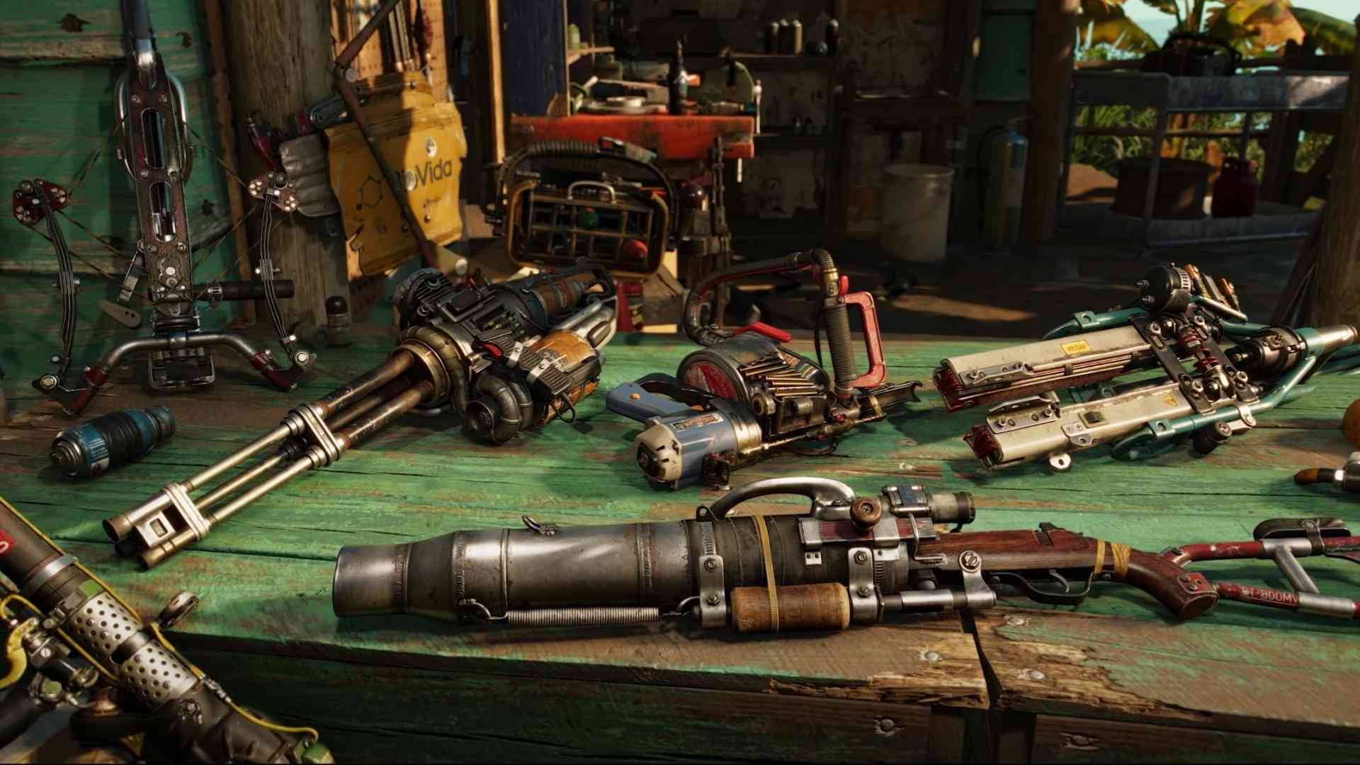 Weapons in Far Cry 6