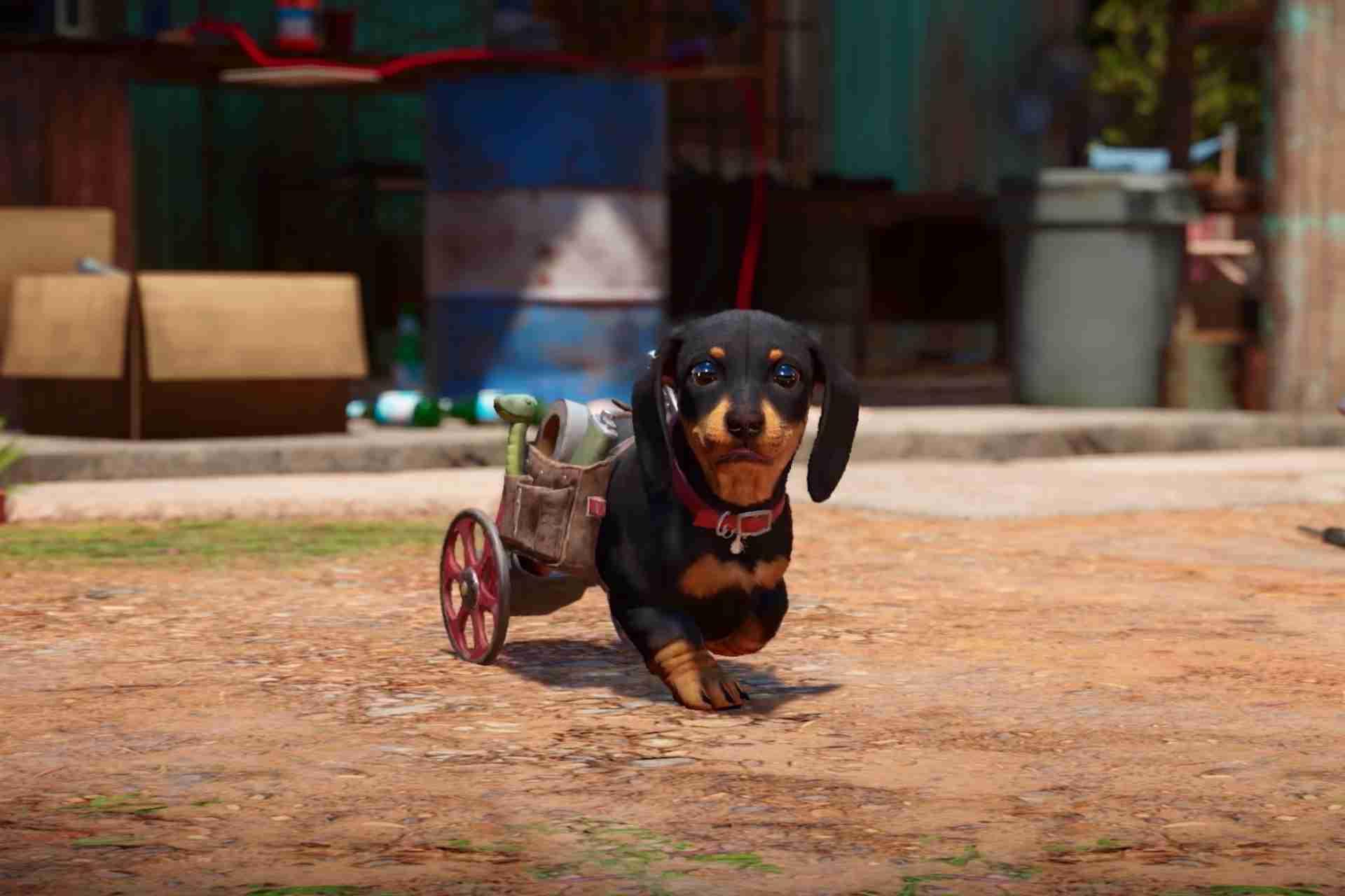 Cute Weiner Dog Amigo-Chorizo-Far Cry 6