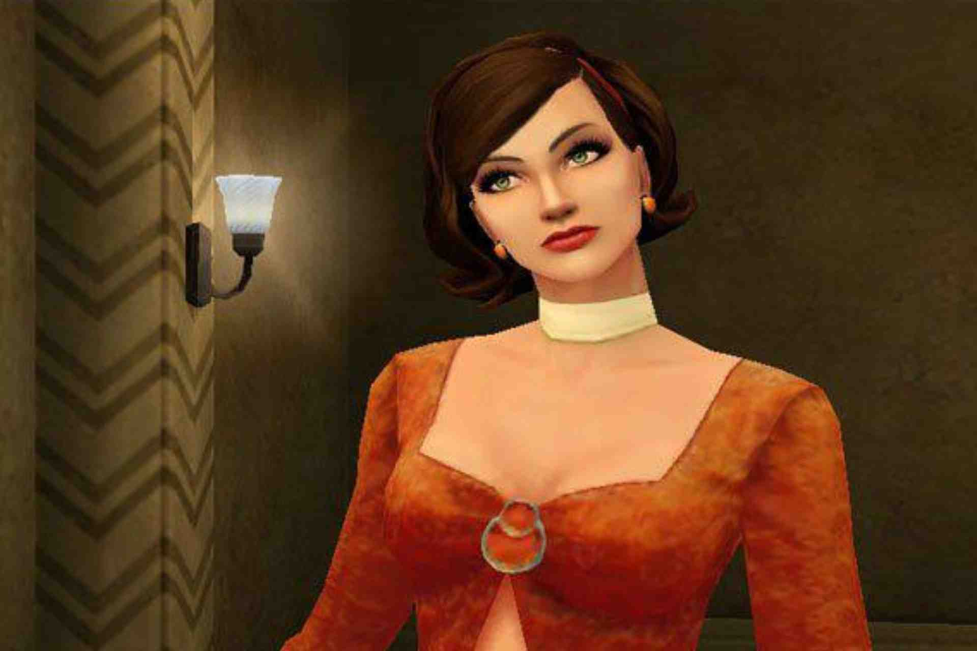 Agent Cate Archer is the main character in No One Lives Forever