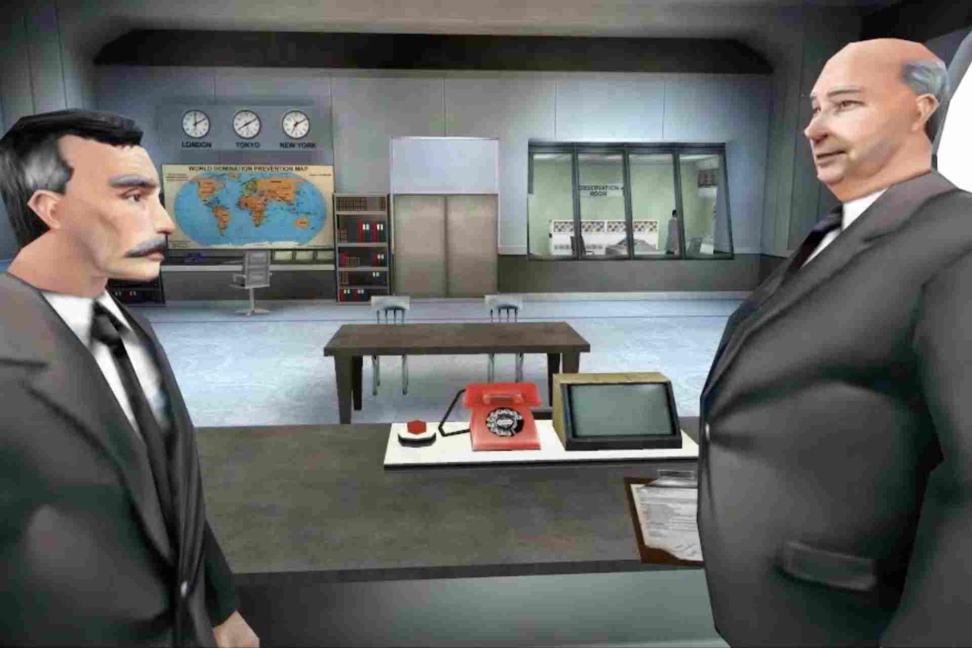 Mr.Smith and Mr.Jones are the heads of the organization called UNITY in No one lives forever game.