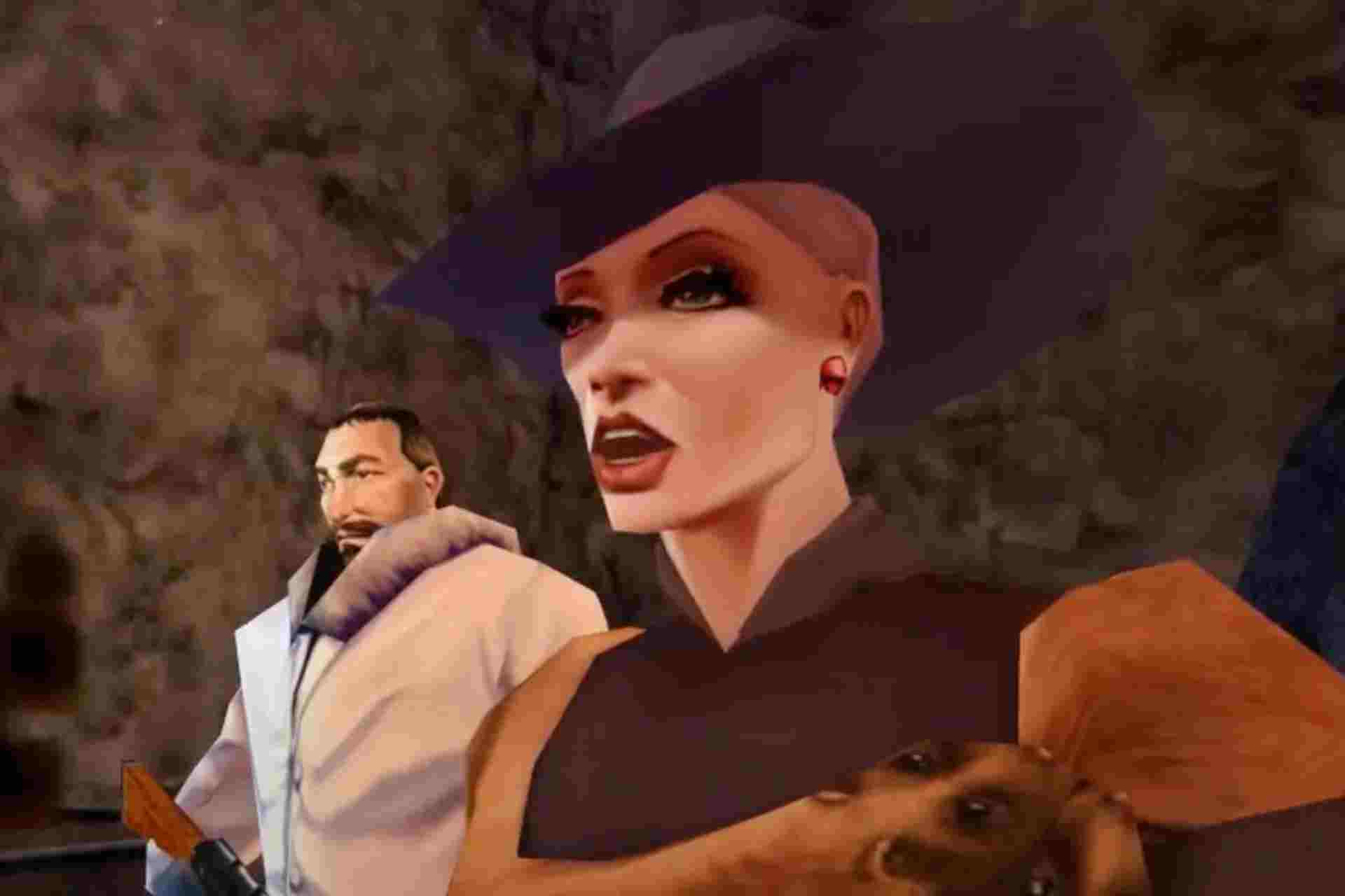 Felicity Dumas is a main villain in No one lives forever game.