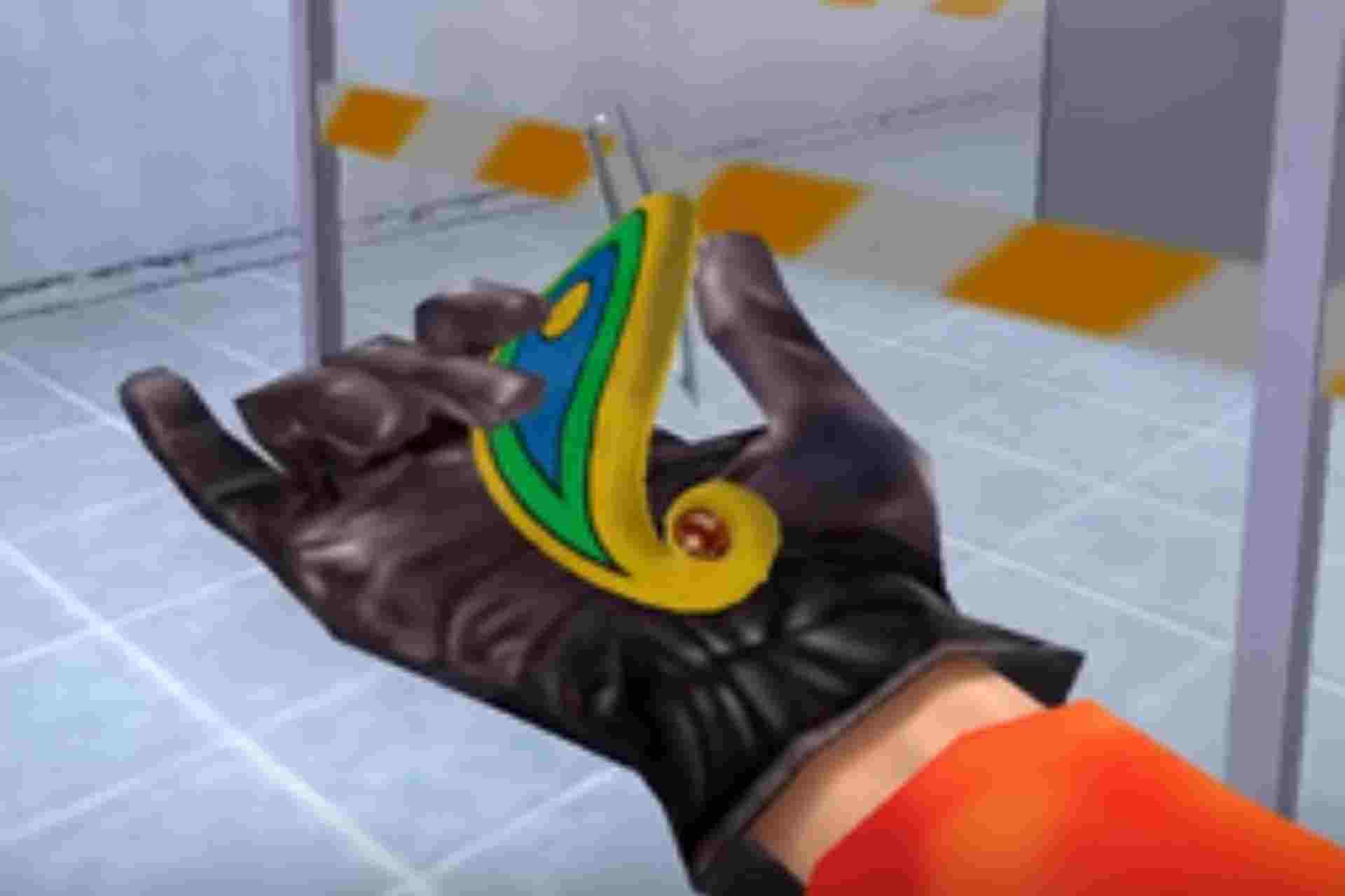 The Barette gadget is used to pick locks and also to slash enemies in No one lives forever