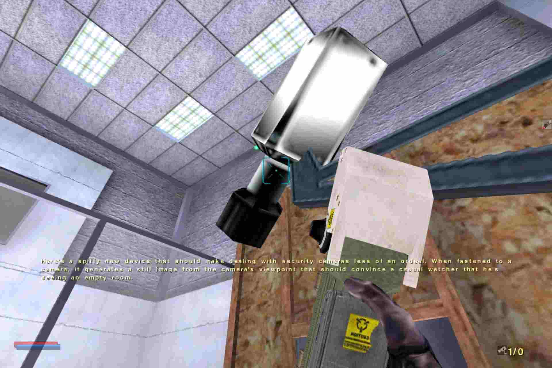 Camera Disabler is a gadget used in NOLF to disable camera surveillance by enemy operatives.