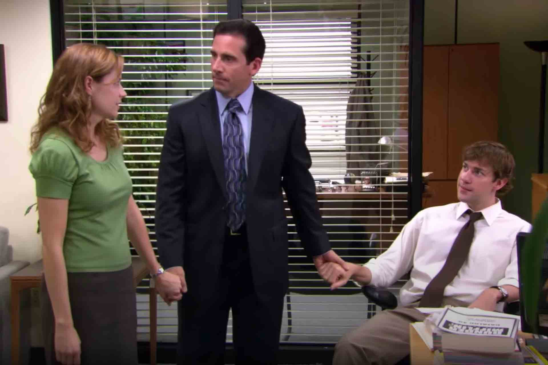 Pam and Jim were friends with Michael Scott in The Office