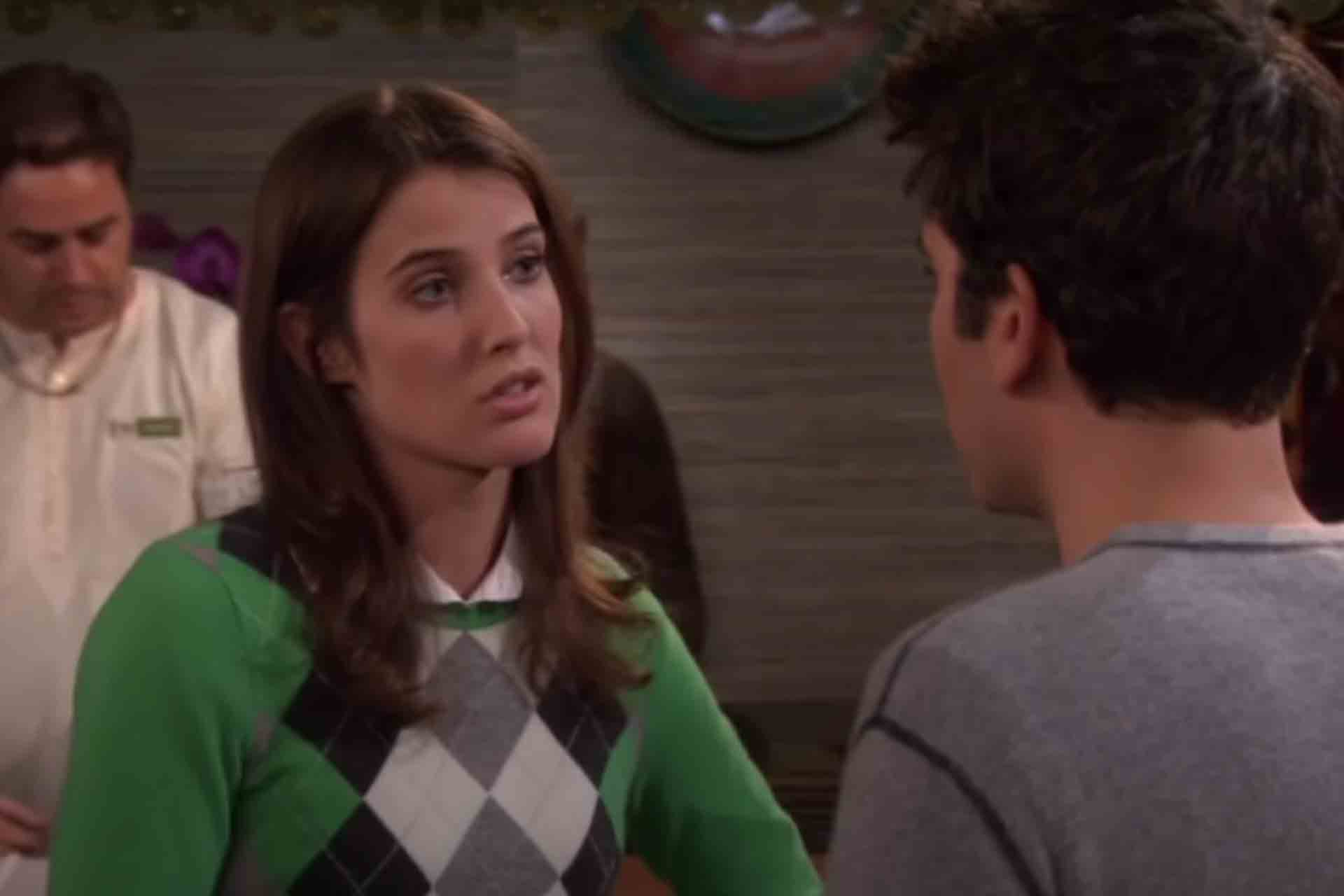 Robin asks Ted not to marry Stella in How I met your mother.