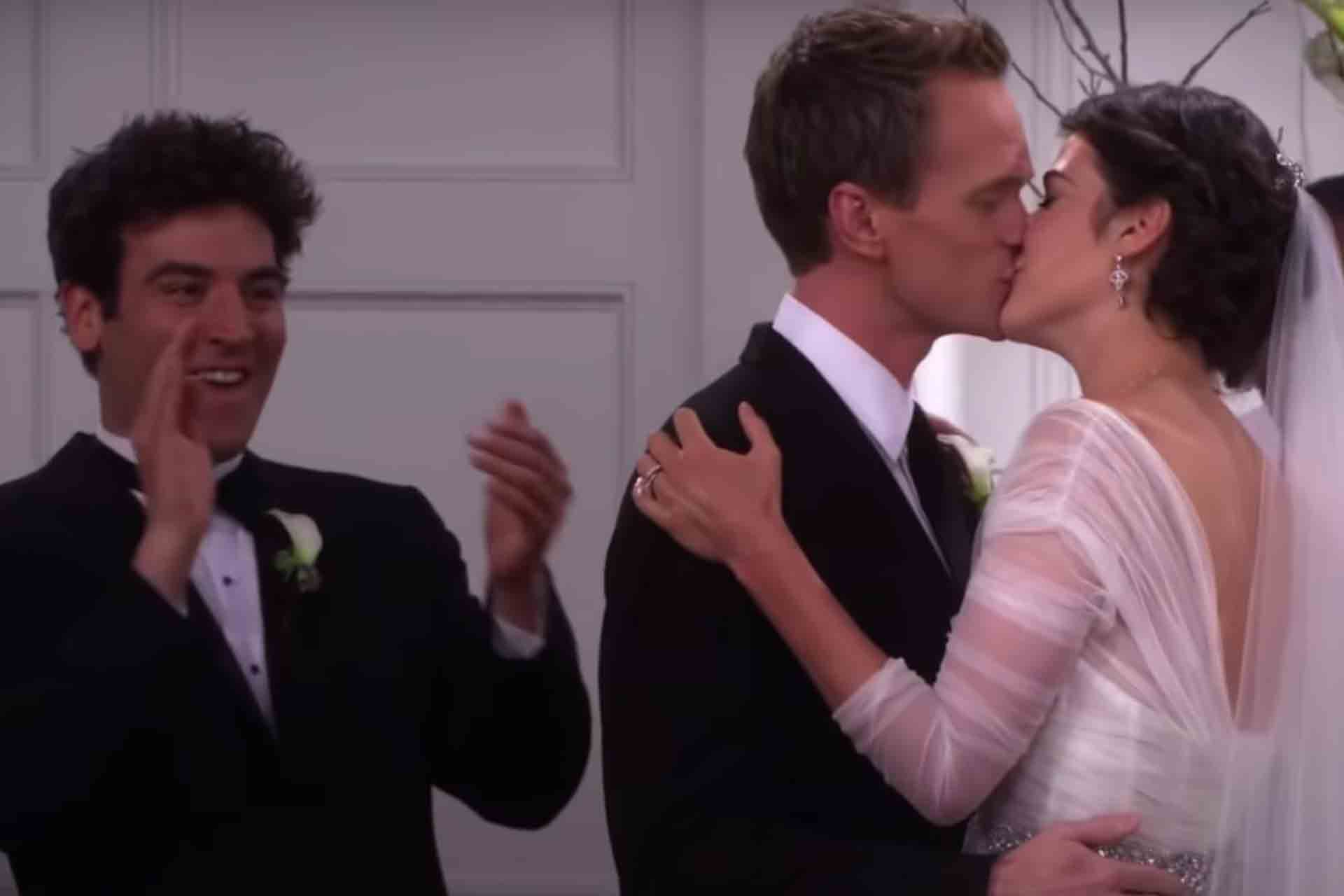 Robin Tries To Run Away With Ted Before Her Wedding To Barney in How I Met Your Mother.