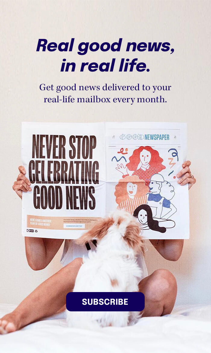 Real Good News in Real Life - Subscribe