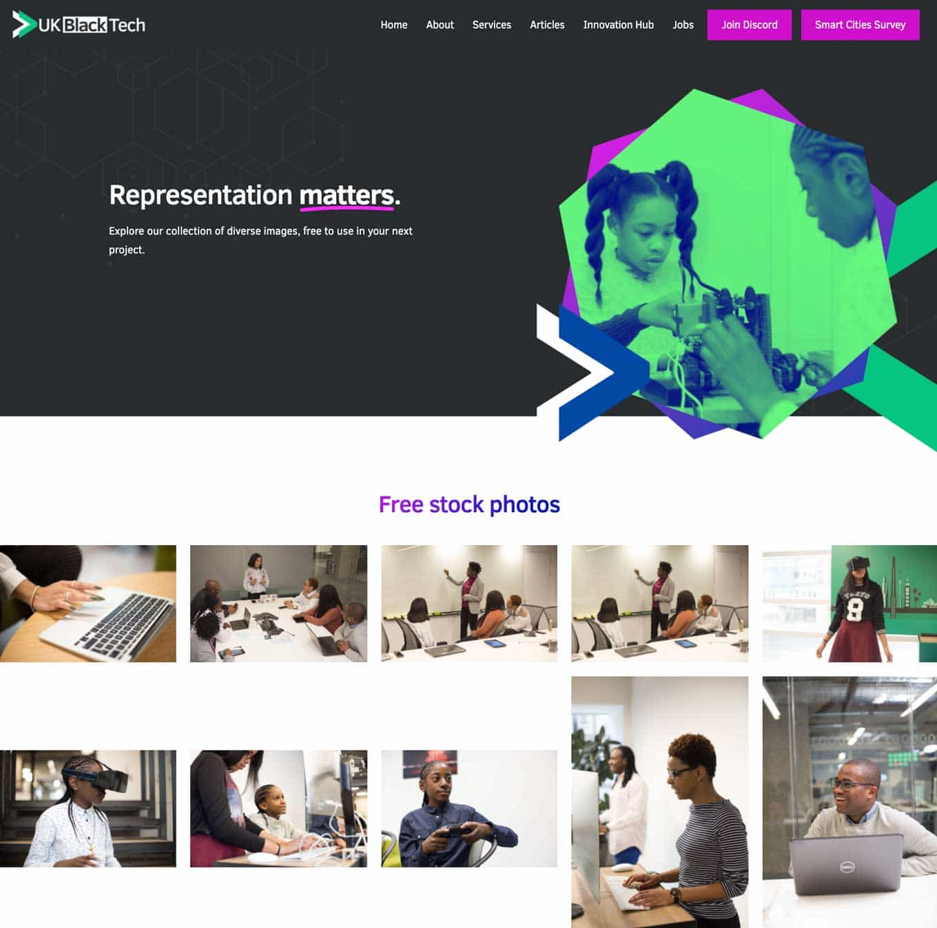 UK Black Tech Stock Photography - Representation Matters - Explore our collection of diverse images, free to use in your next project - Free stock photos