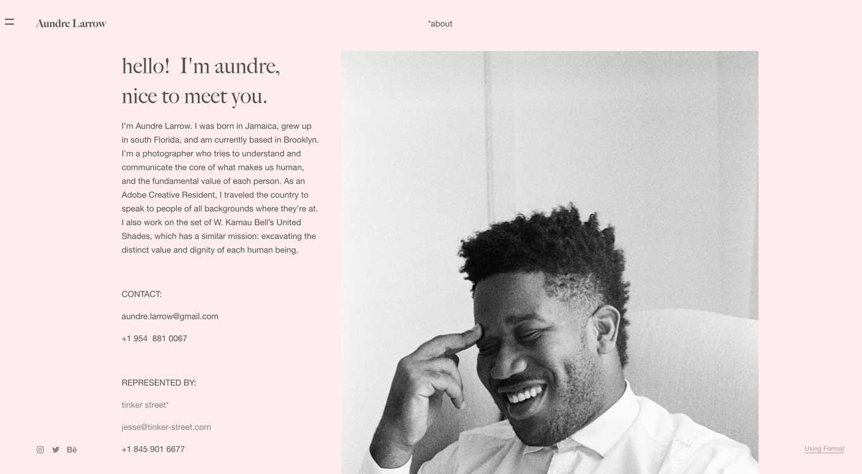 Hire creators of color - Aundre Larrow - Instagram