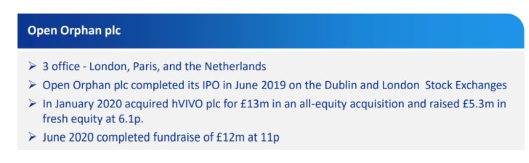 open-orphan-plc-company-description