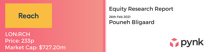 Equity Research Report banner