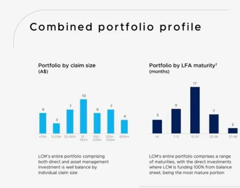Pynk Community - Litigation Capital Management Portfolio Profile