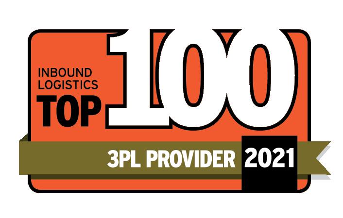 Top 100 Logistics Logo