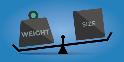 Weight-vs-Size