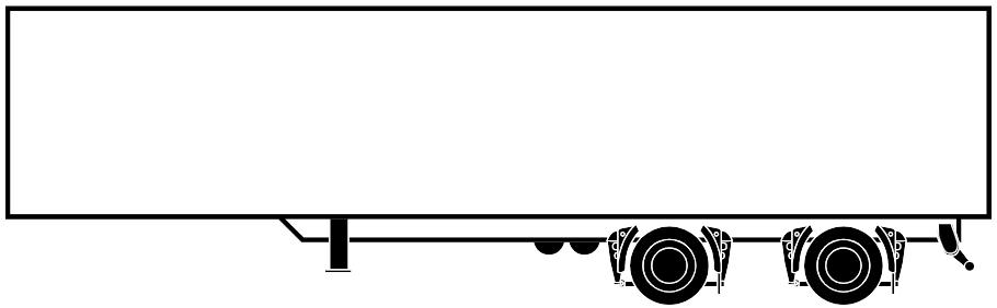 Enclosed Box Dry Van Trailer