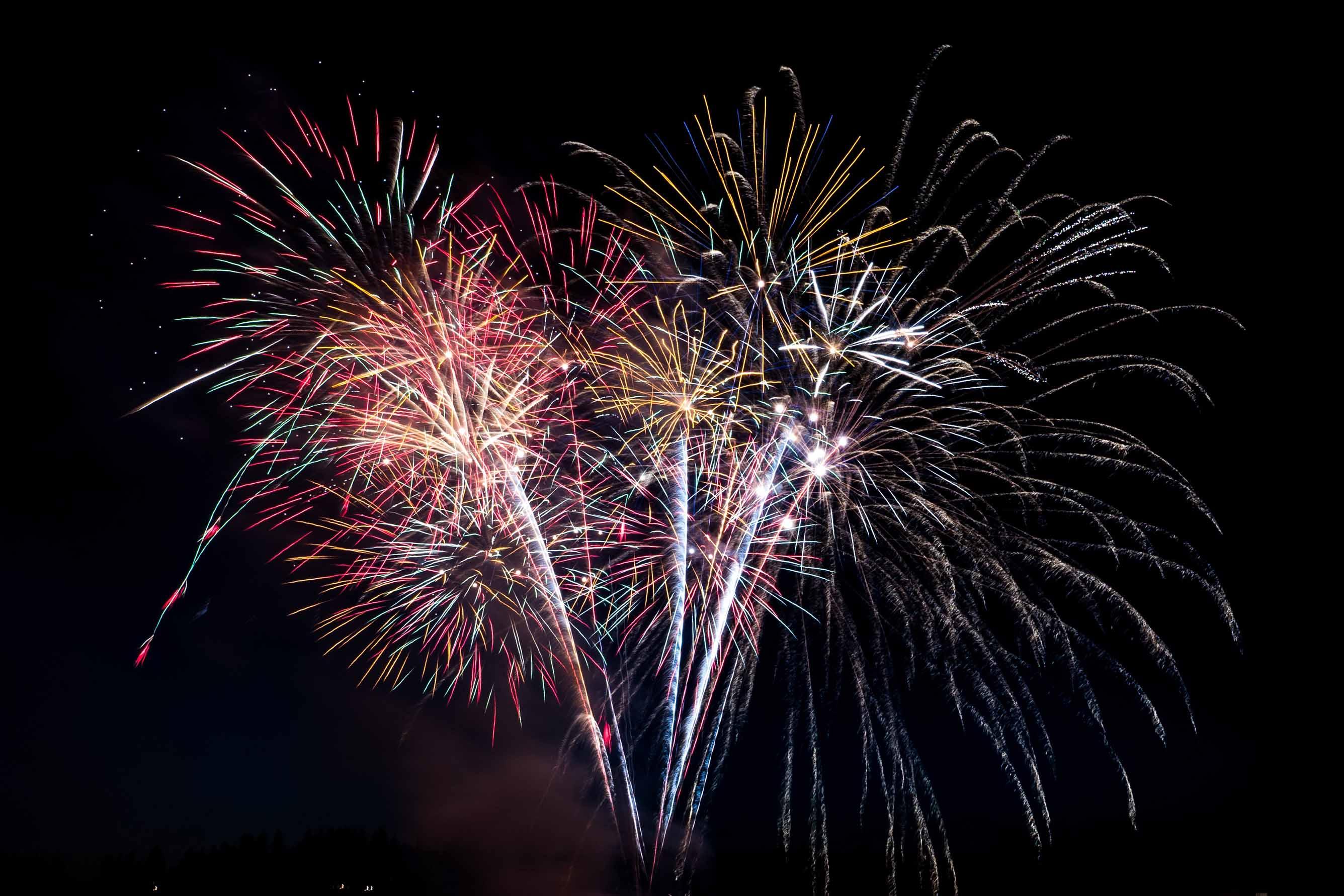 Hochzeits-Feuerwerk Oberösterreich