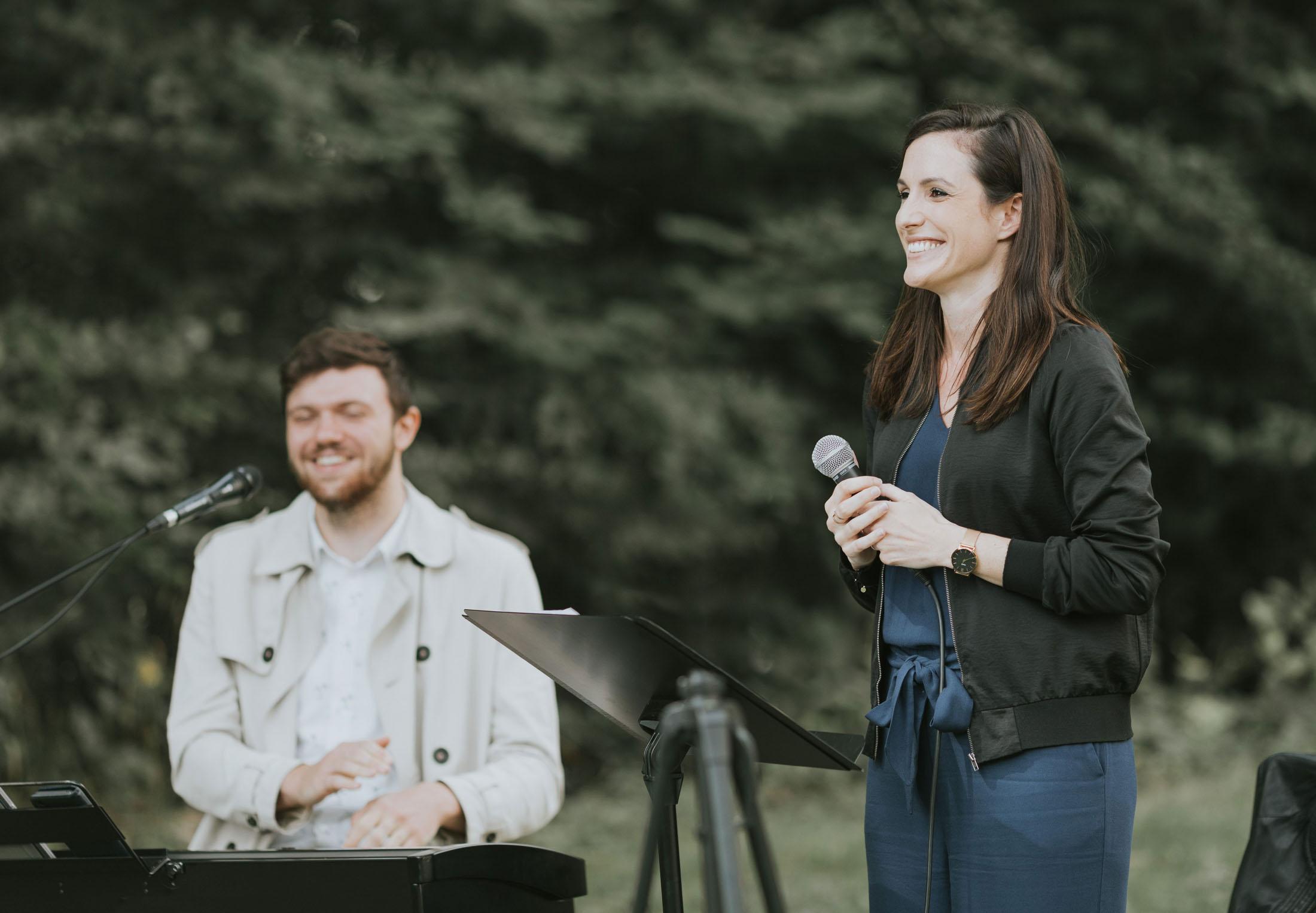 Hochzeitssängerin Teresa Huprich