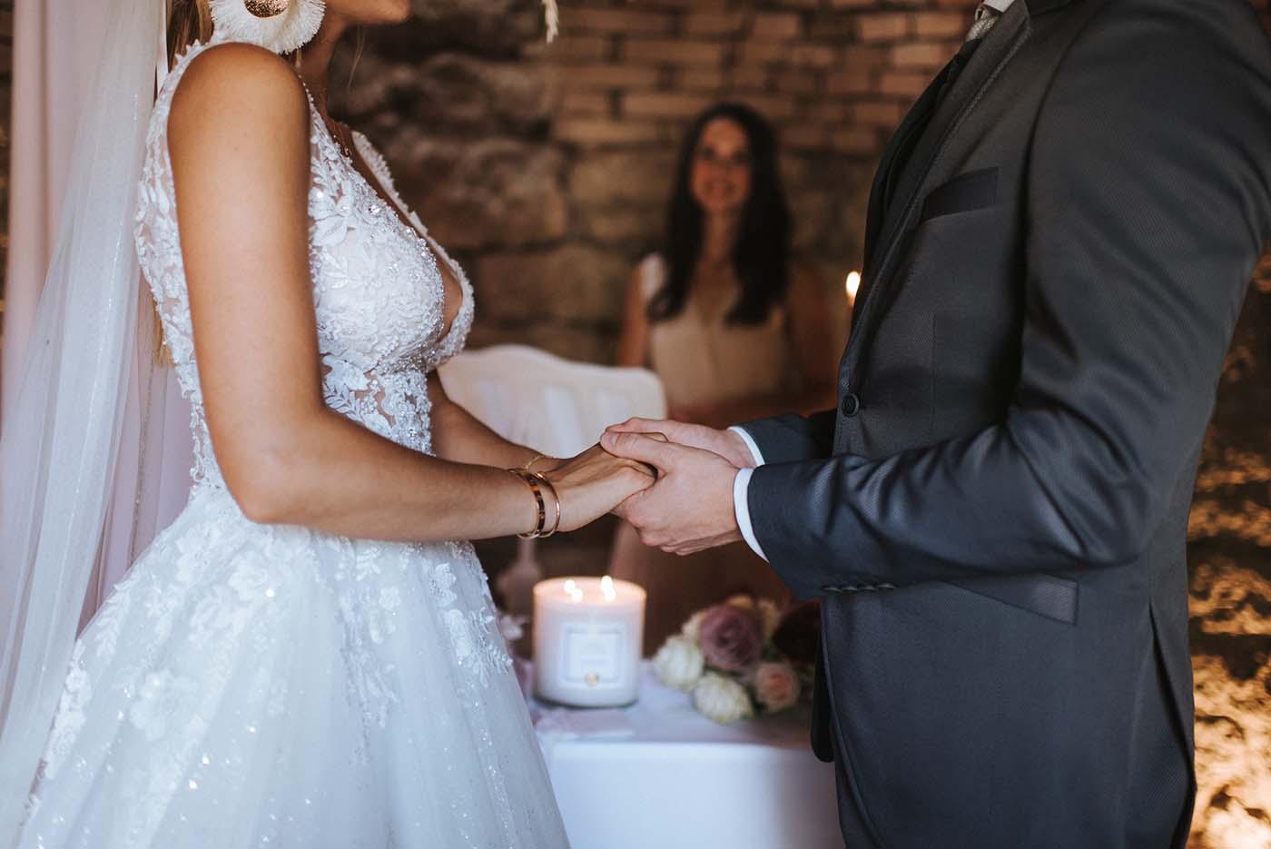 """Hochzeitskerzen im Glas """"Eternal Flame"""""""