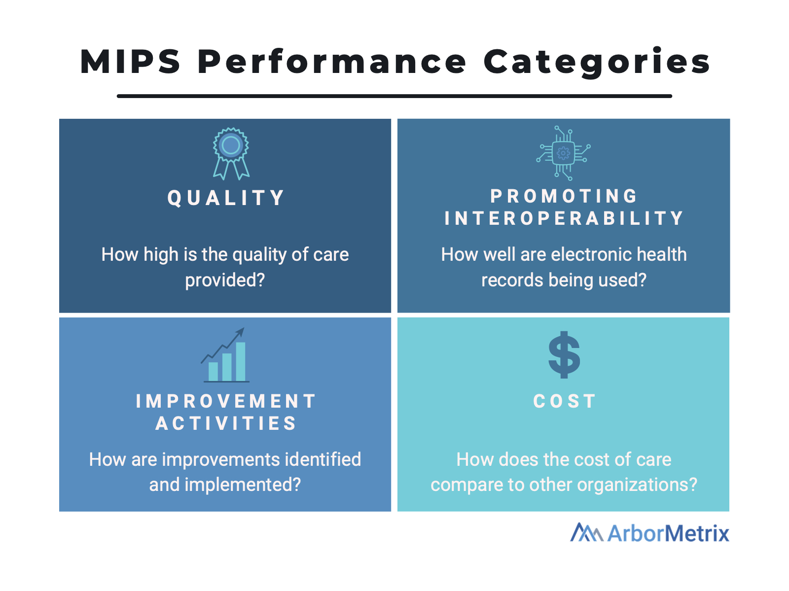 MIPS performance categories