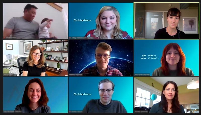 ArborMetrix Team Collaborating on Zoom Meeting