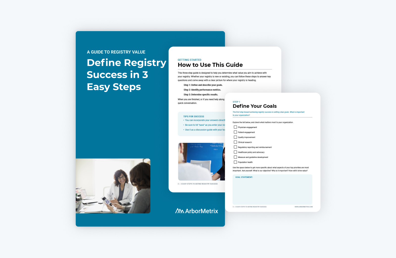 Cover if guide and examplepages of worksheets