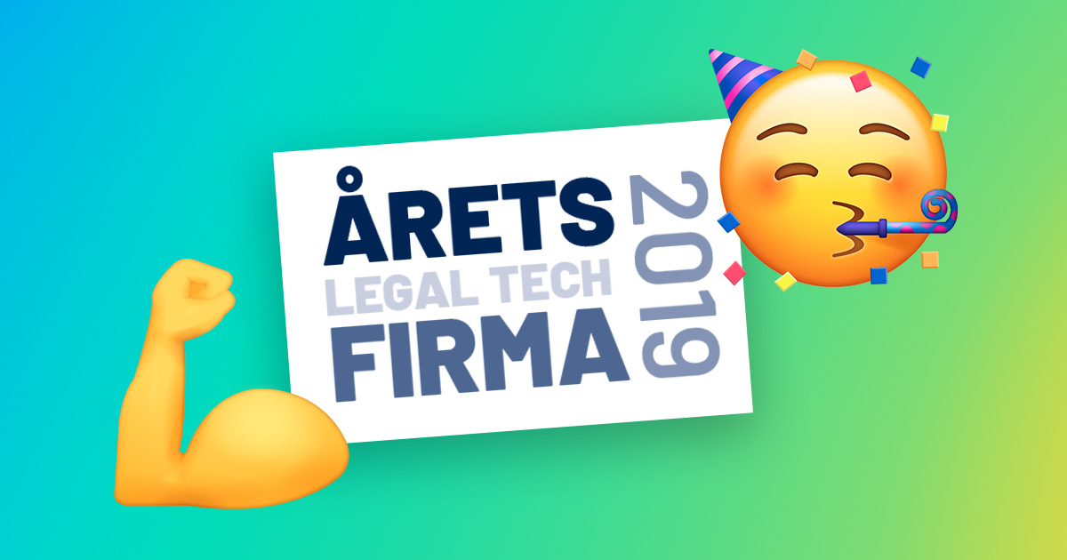 RISMA kåret som årets legal tech-virksomhed_complianceløsning