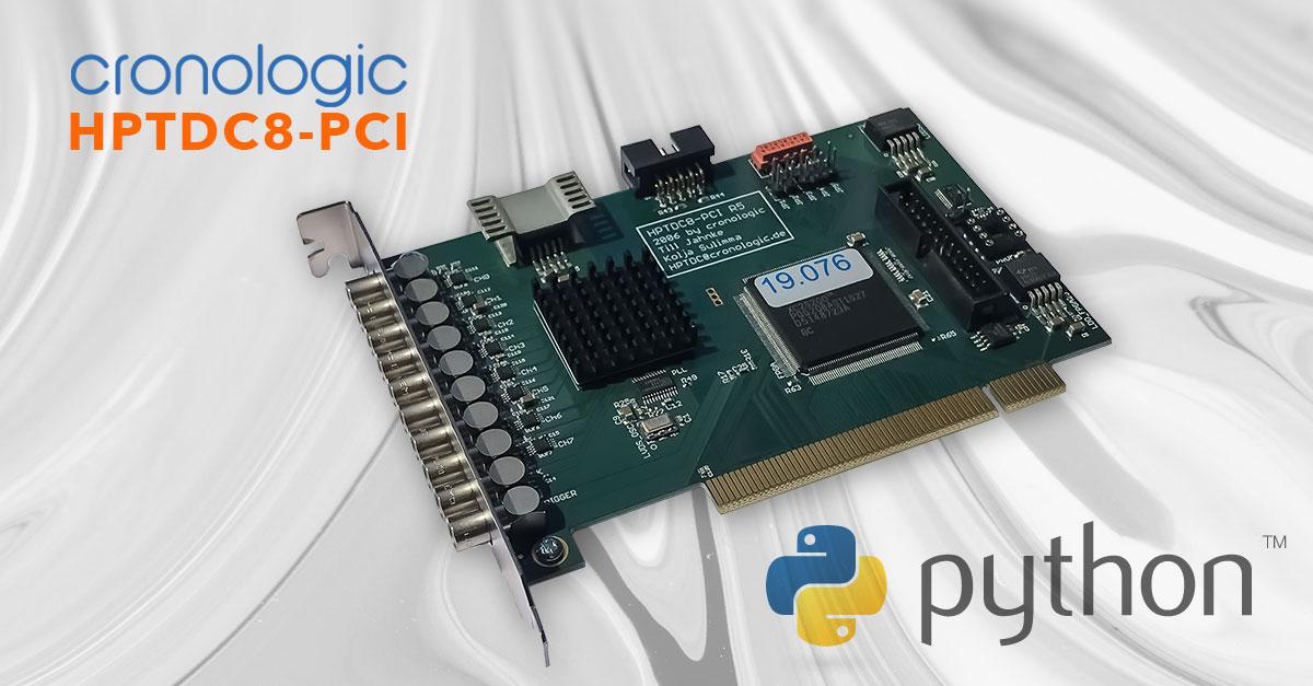 Python wrapper for HPDTC8