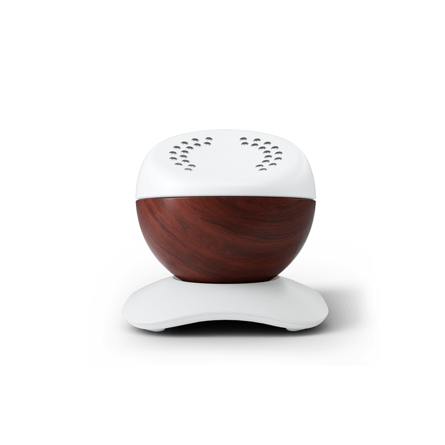 Core meditation trainer on charging dock.