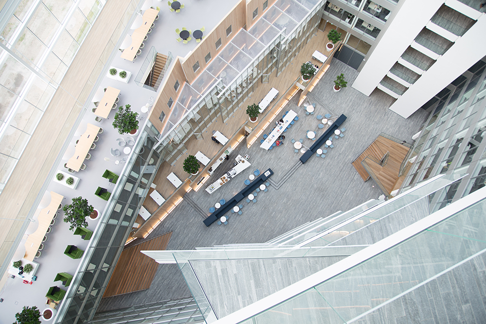 The Edge, Amsterdam. Deloitte and Mapiq
