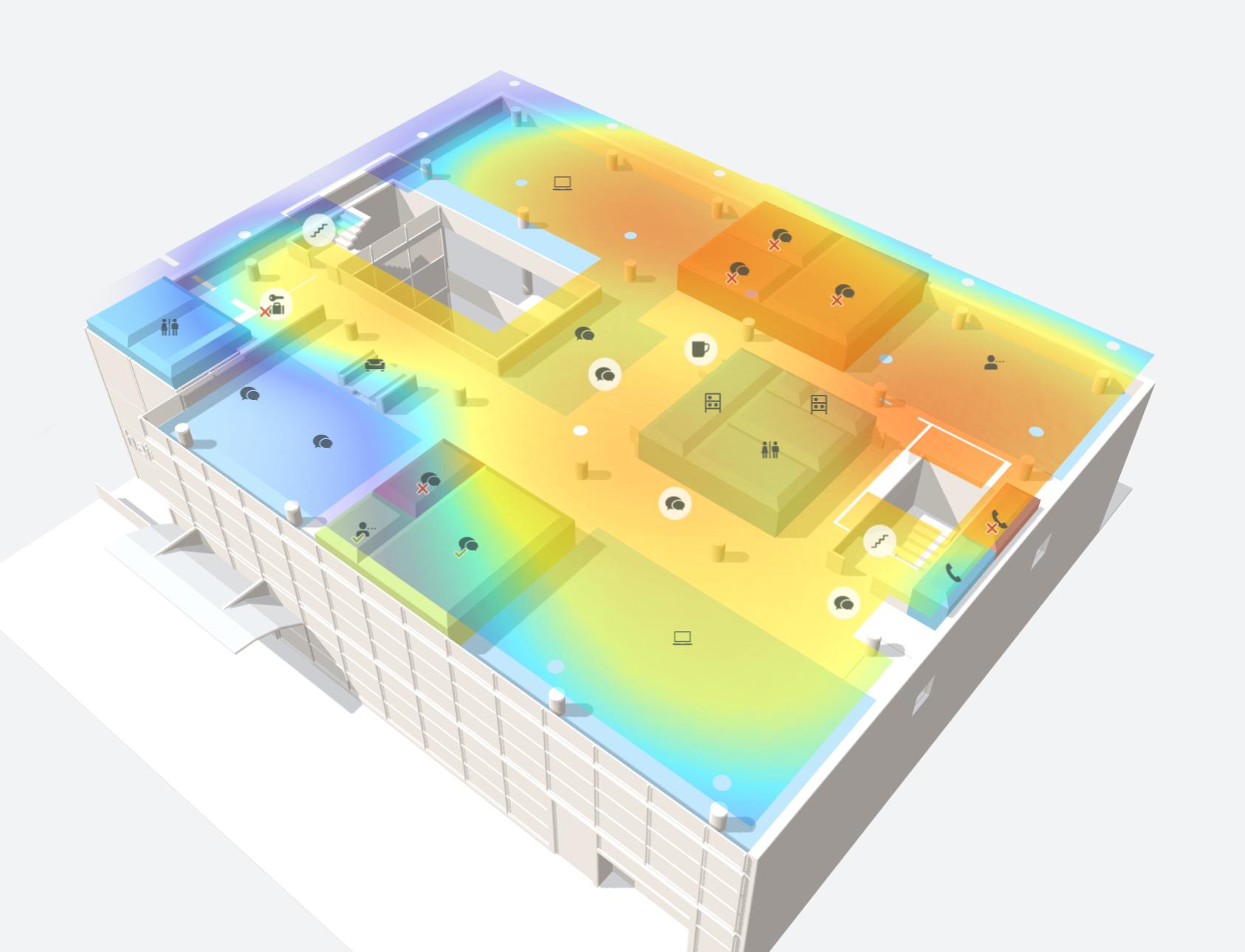 Office Heatmaps