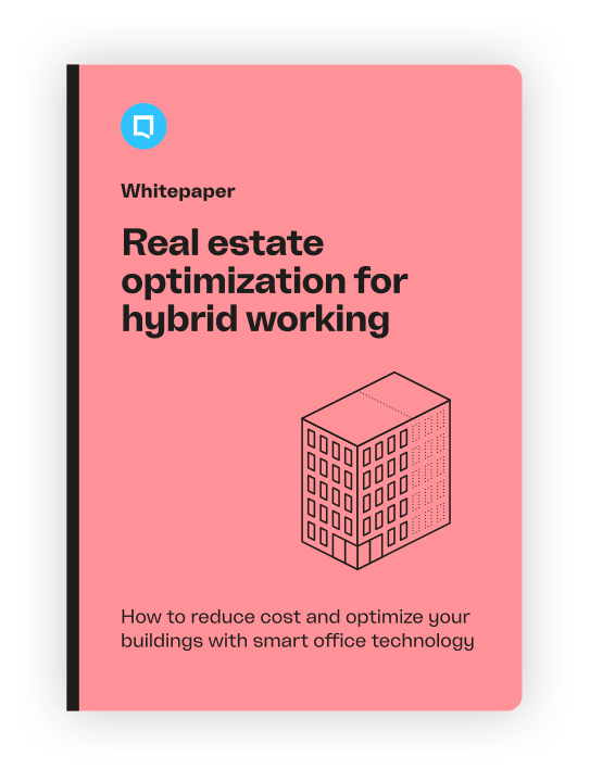 Real estate optimization for hybrid working