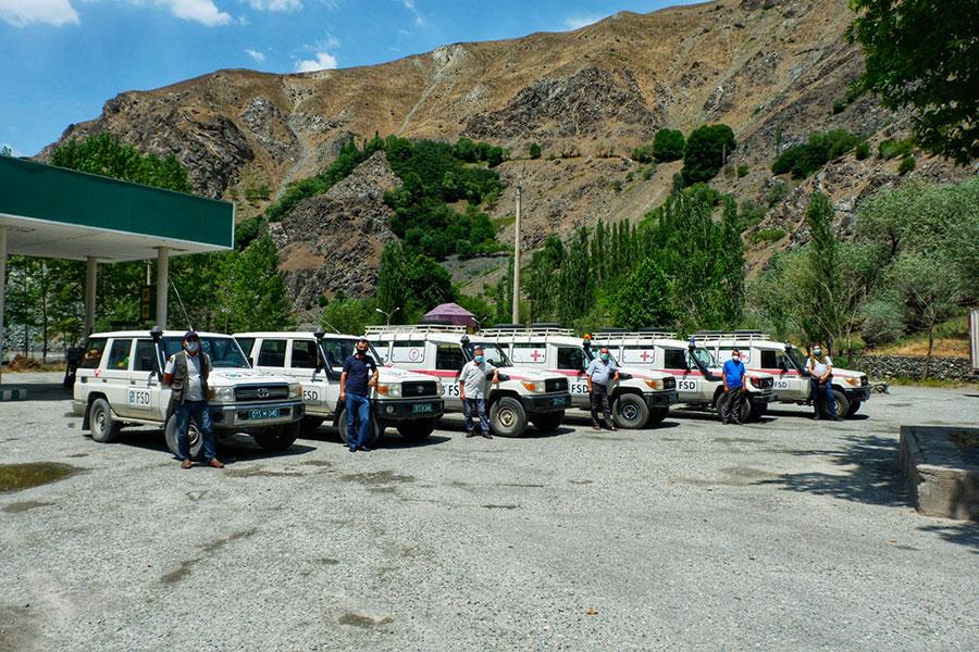 FSD vehicles in Darwaz