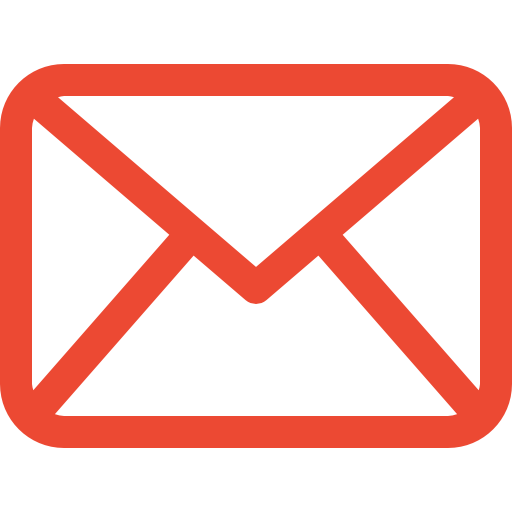 An icon of an envelope stating you can reach us 24/7 via email.