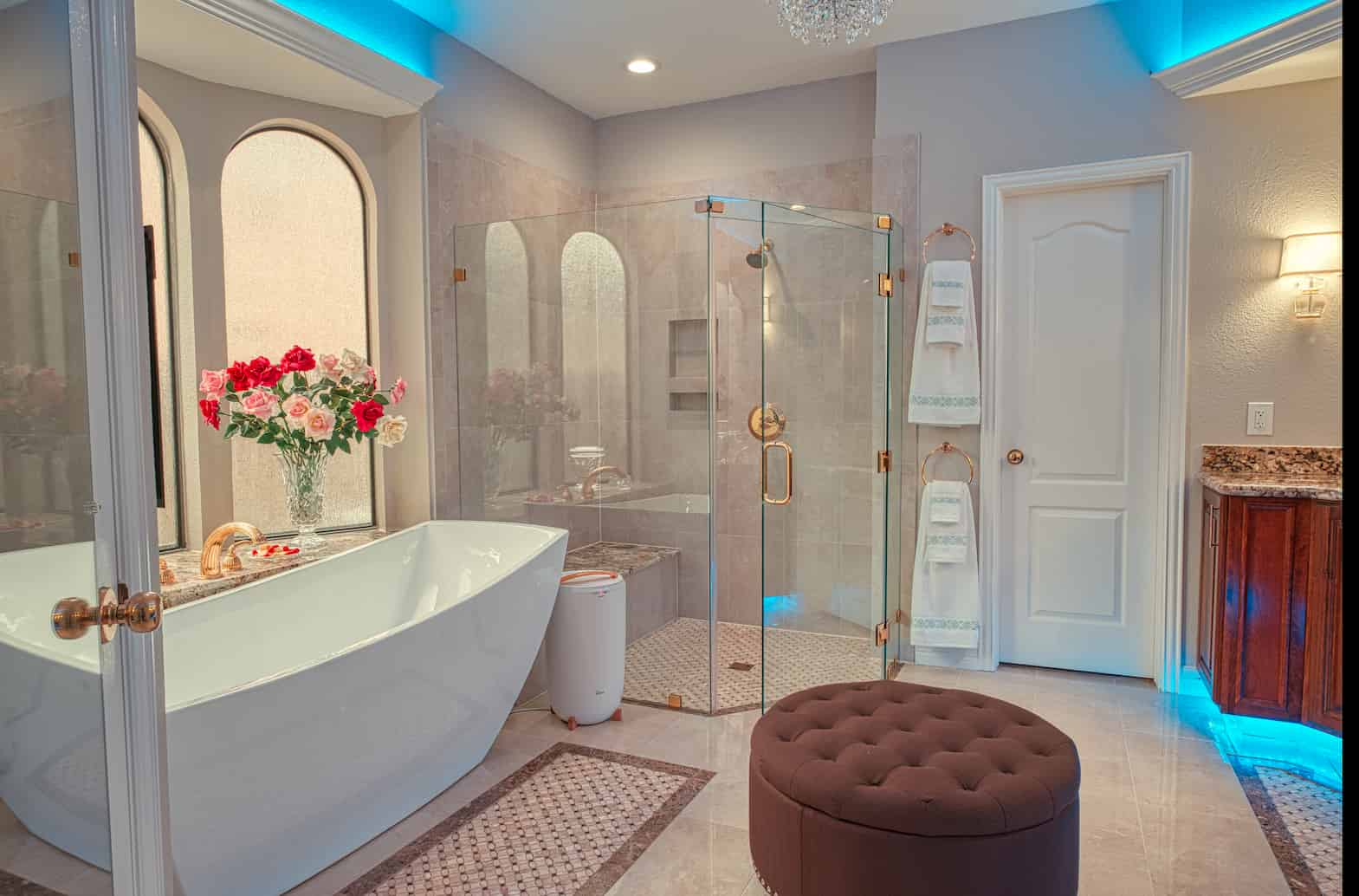 A picture of a master bath EZ Bath Remodeled in the Houston Area.