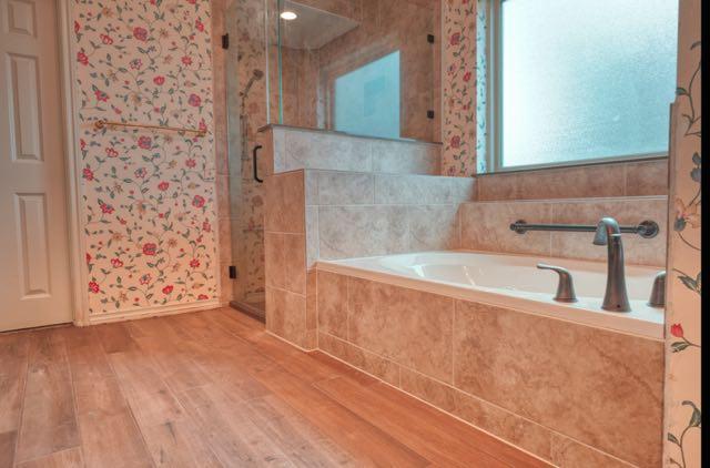 Tile Shower Remodel and Bathtub Renovation