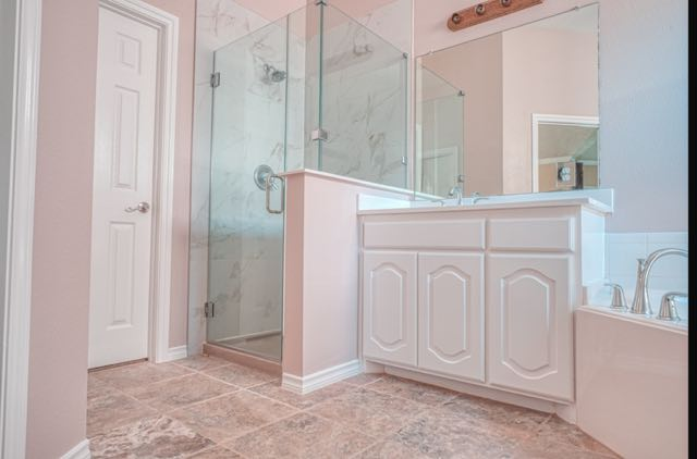 Shower Remodel with Frameless Glass
