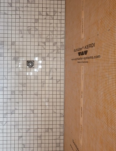 The Schluter Kerdi system is the most advanced system to use for a tile shower.
