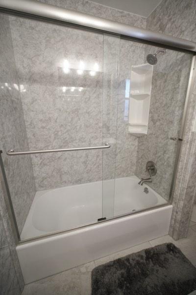 Bathtub shower combo remodel