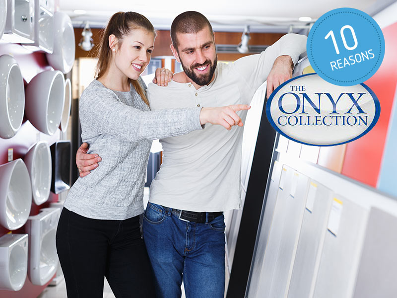 The Onyx Collection is the leading manufacturer of solid surface bathroom products, and they offer solutions that have been developed for thirty years. You can then get the best materials and bathroom options that make your bathroom remodel the most efficient it could be.