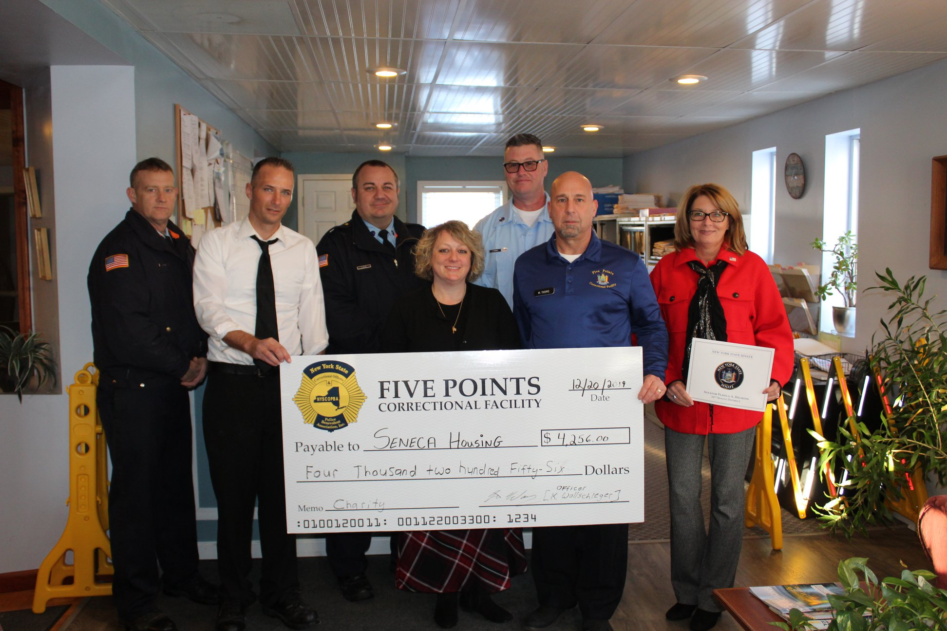 5 points donation