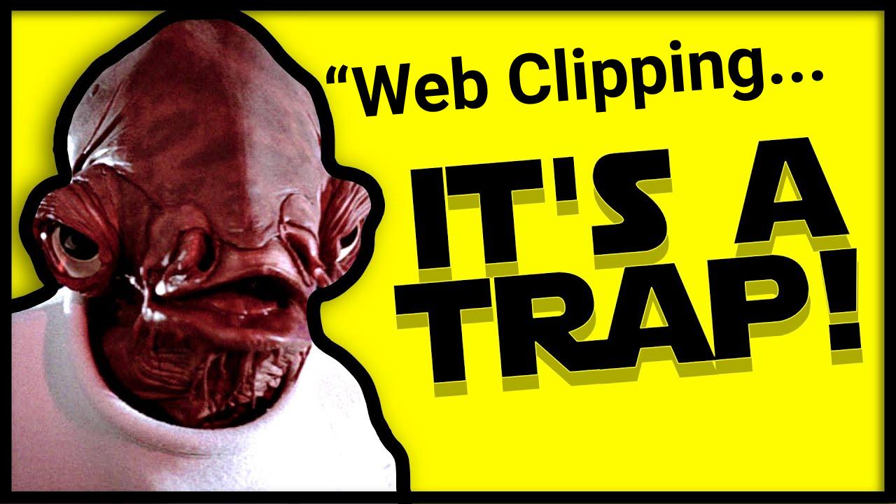 It's a trap image